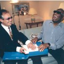Rencontre avec Ray Charles (photo Ralph Gatti)